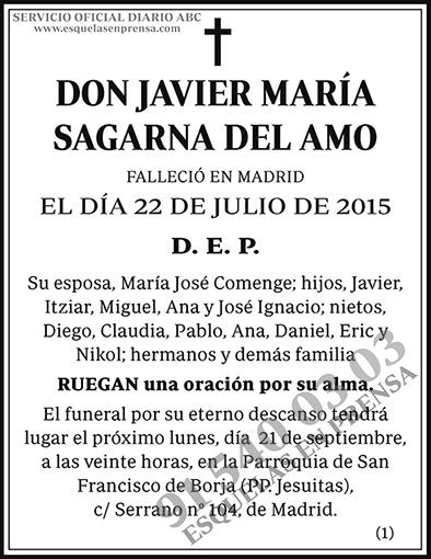 Javier María Sagarna del Amo